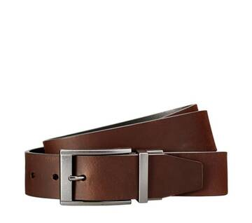 Men's Reversible Leather Jean Belt