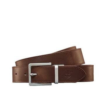 Men's Reversible Leather Canvas  Belt