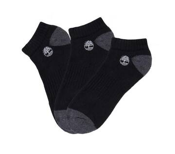 Men's Organic No-Show 3 Pack Socks