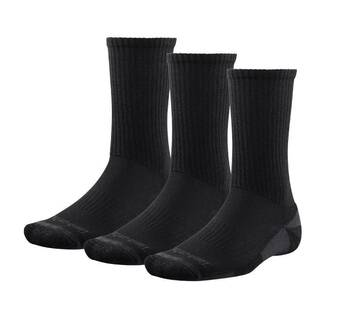 Men's Arch Support 3 Pack Crew Socks