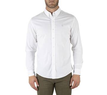 Men's Long Sleeve Embroidered Shirt