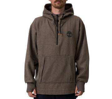 Men's Sport Leisure Quarter-Zip Hoodie