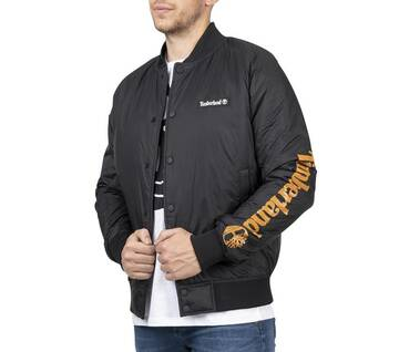 Men's Water-Resistant Varsity Jacket