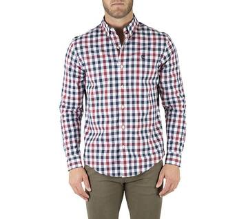 Men's Long Sleeve Gingham Eclectic Evolution