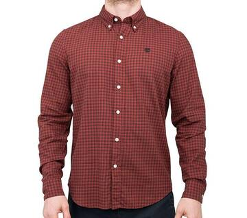 Men's Long Sleeve Checked Flannel Shirt