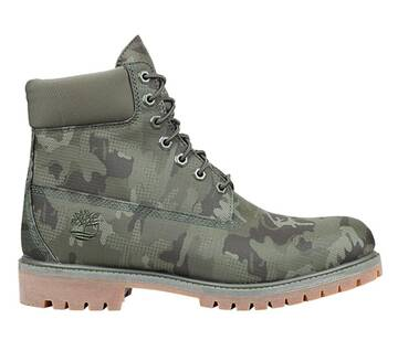 Men's 6-Inch Dark Green Ripstop Boot