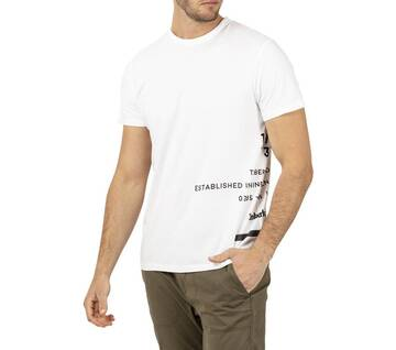 Men's Reflective Side Graphics T-Shirt
