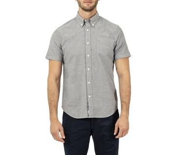Men's Short Sleeve Pleasant Oxford Shirt