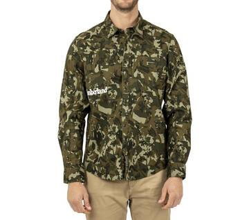 Men's Camo Overshirt