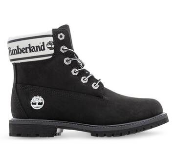 6IN PREMIUM BOOT LF- W BLACK