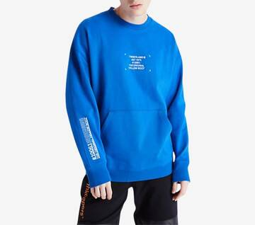 Men's Workwear Crew Neck Sweatshirt Nautical Blue