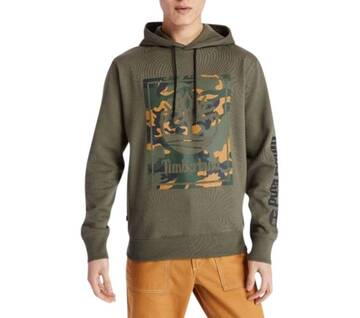 Men's Camo Tree Hoodie Sweatshirt