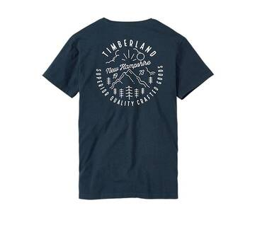 "Men's Kennebec River Back Graphic ""Lived-in"" Tee"