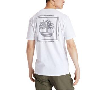 Men's Short Sleeve Tree Logo T-Shirt