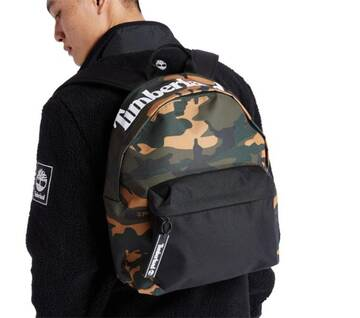 Camo-Print Backpack
