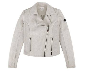 Women's Signature Spacer Knit Biker Jacket